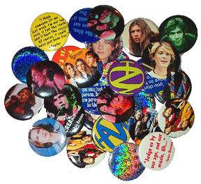 18 Assorted Hitz Buttons