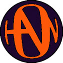 Black/Orange Hanson Logo Button