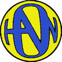 Yellow/Blue Hanson Logo Button
