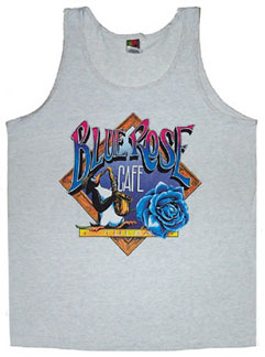 Blue Rose Cafe Tank (front)