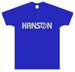 Hanson Silk-Screened Logo Tee Size Large