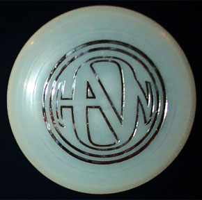 Hanson Glow in the Dark Frisbee