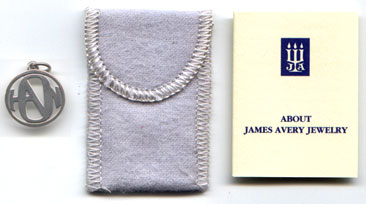 HANSON LOGO PENDANT fashioned by James Avery in a line