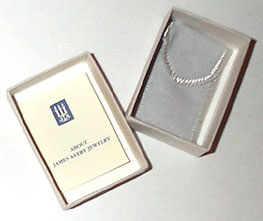 HANSON LOGO PENDANT fashioned by James Avery open box