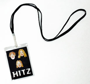 Hitz Faces Lanyard Front