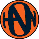 Orange/Black Hanson Logo Button