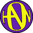 Purple/Yellow Hanson Logo Button