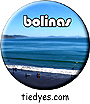 Bolinas Surfers, West Marin County, CA Button, Bolinas Surfers, West Marin County, CA Pin-Back Badge,  Bolinas Surfers, West Marin County, CA Pin
