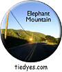 Elephant Mountain, West Marin County, CA Button, Elephant Mountain, West Marin County, CA Pin-Back Badge,  Elephant Mountain, West Marin County, CA Pin