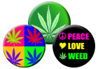Hemp, Cannabis, 420 Weed Buttons