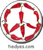 Chili Pepper Peace Sign Magnet