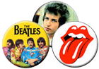 Classic Rock Buttons