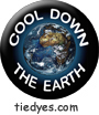 Cool Down the Earth Environmental Green Political Magnet