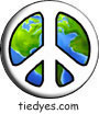 White Earth Peace Sign Political Magnet (Badge, Pin)