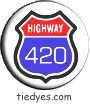 Highway 420 Political Magnet Pin-Badge