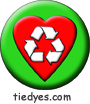 I Heart Recycling Environmental Green Political Magnet