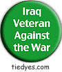 Iraq Veteran Against the War Liberal Democratic Political Magnet (Badge, Pin)