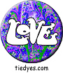 Groovy Hippy Pin Badge Button