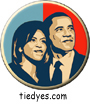 Obama First Couple Hope Democratic Presidential Magnet (Pin, Badge) Magnet