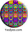 Pop Peace Political Magnet (Badge, Pin)
