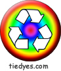 Recycle Rainbow Environmental Green Political Magnet