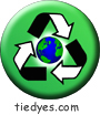 Recycle the Earth Environmental Green Political Magnet