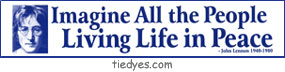 Imagine All the People Living Life in Peace Anti-War Anti-Bush Peace Political Bumper Sticker