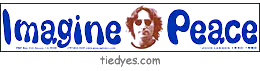Imagine Peace - Lennon  Peace Bumper Sticker