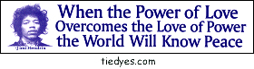 When the Power of Love Overcomes the Love of Power The World Will Know Peace Jimi Hendrix Bumper Sticker