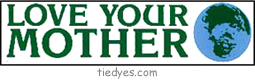 Love Your Mother Ecological Bumper Sticker