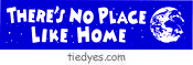 There's No Place Like Home Bike Sticker
