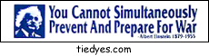 You Cannot Simultaneously Prevent And Prepare For War Political Bumper Sticker