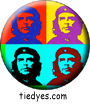 Che Guevarra Pop Art Liberal Democratic Political Magnet (Badge, Pin)