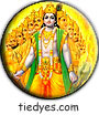 Vishnu Hindu God Spiritual Religious Peace Magnet (Badge, Pin)