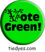 Vote Green Democratic Liberal Political Magnet (Badge, Pin)